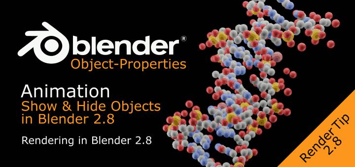 Show & Hide Objects in Renders