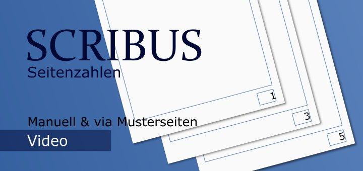 Scribus Seitenzahlen (Video)