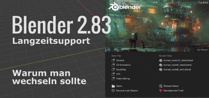 Blender 2.83 Langzeitsupport