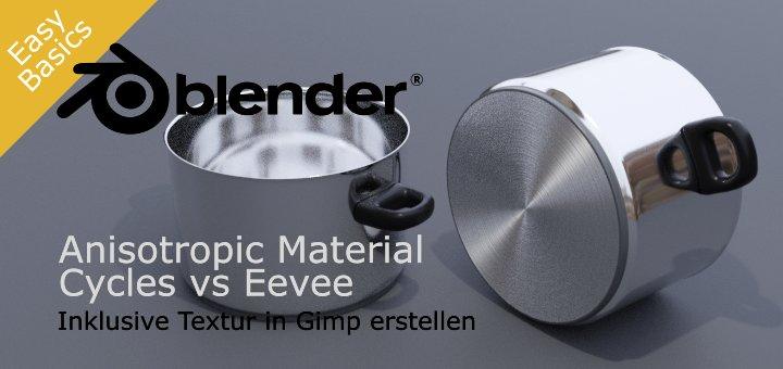 Blender Eevee Anisotropic