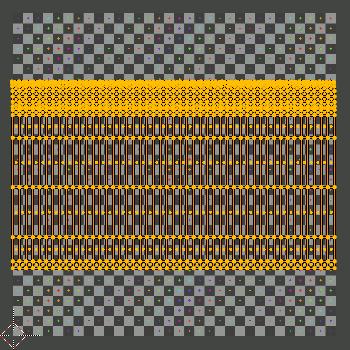 UV-Mesh auf y-Achse skaliert
