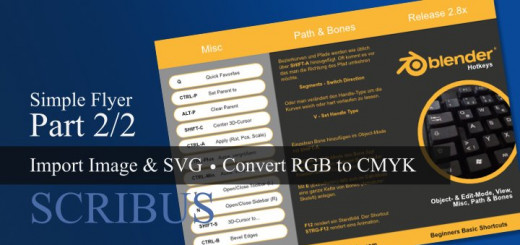 Scribus Bilder und SVG