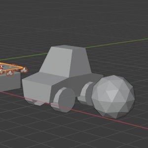 Auto statt Icosphere als Objekt