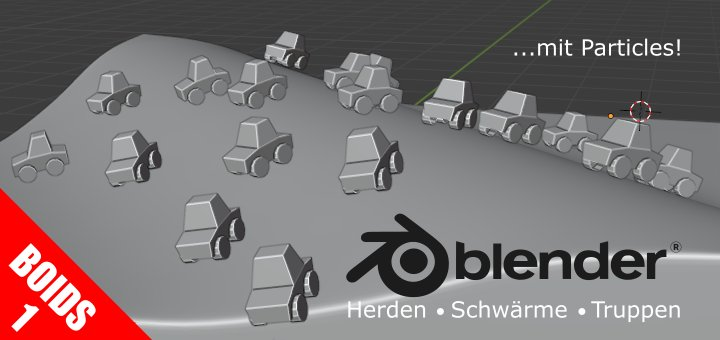 Blender Boids Part 1