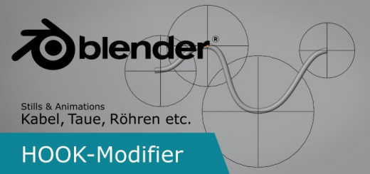 Blender Hook Modifier
