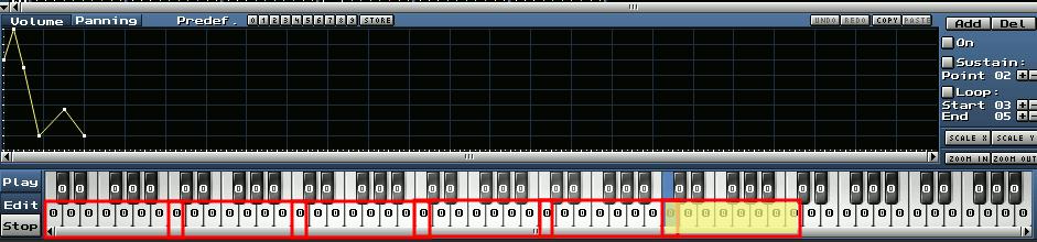 6 Lage Tonleiter C-Dur