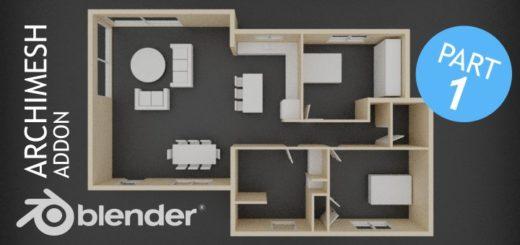 Blender Archimesh Part 1