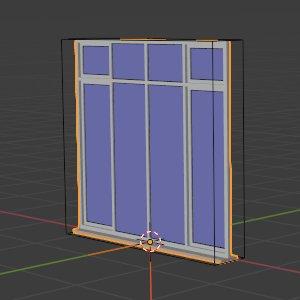 Fensterflächen und Oberlichter