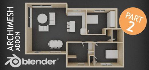 Blender Archimesh Part 2