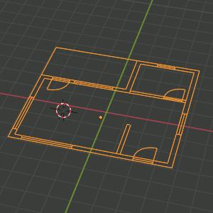 DXF-Zeichnung in Blender