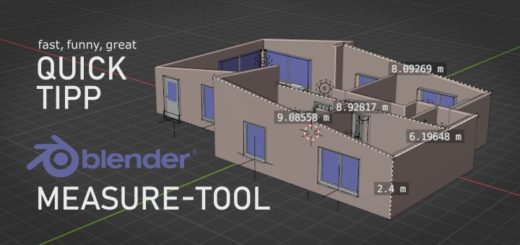 Blender Measure Tool