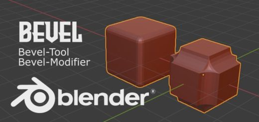 Blender Bevel - Tool & Modifier