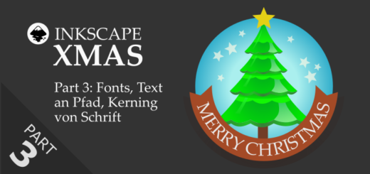 Inkscape Christmas Xmas 2020