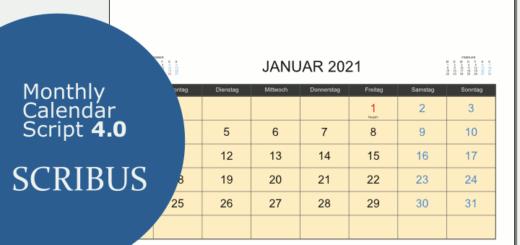Raffertys Monthly Calender Script 4.0
