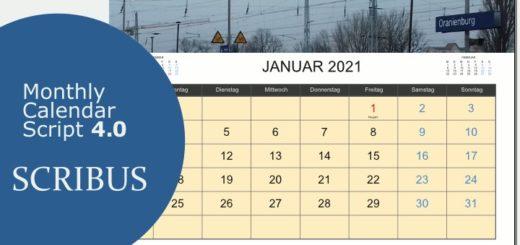 Raffertys Calendar Script 4.0