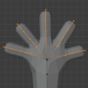 Finger mit neuen Cuts