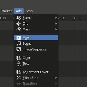 Blender Add - Movie