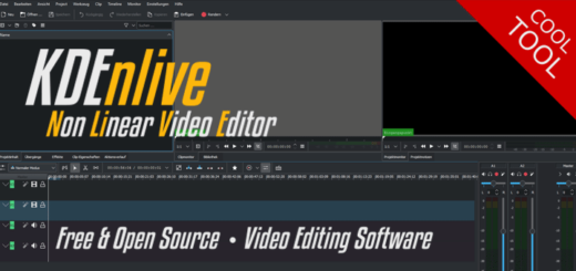 KDEnlive - free Non Linear Video Editor
